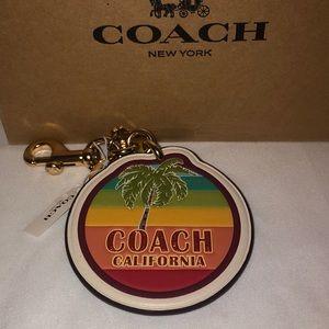 Coach Accessories - 🌴 NWT Coach Keychain 🌴